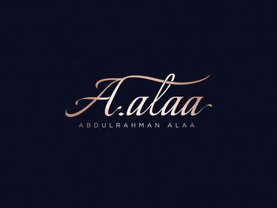 A.alaa | Logo Design