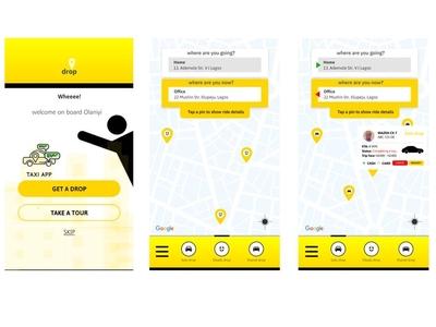 Drop Ride App