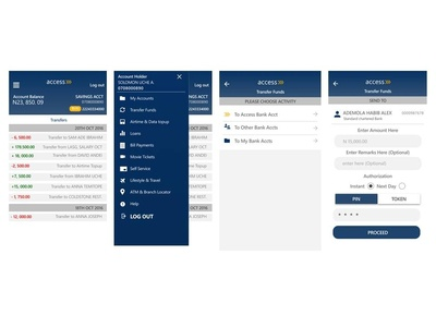 Access Bank App Redesign