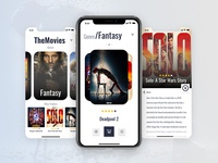 A movie app screen 🎟