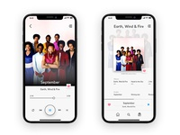 Music app player feature