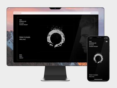 Freelance Designer Web & Mobile Site