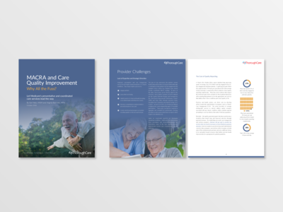 White paper design - ThoroughCare