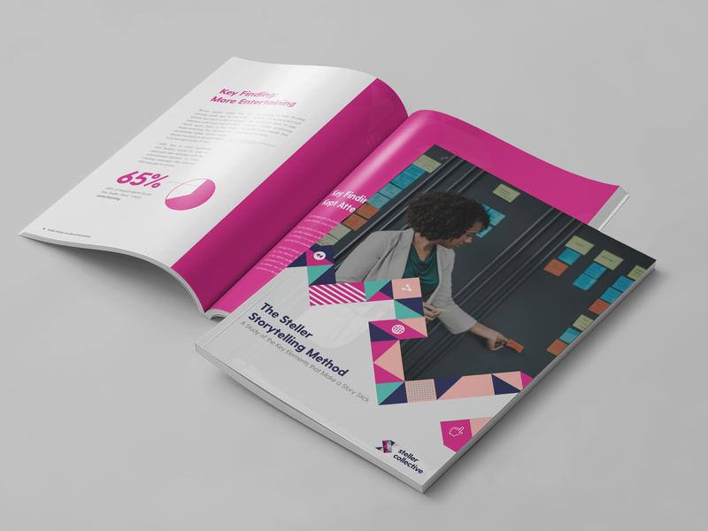 White Paper Design - Steller Collective print white paper marketing collateral jim chute