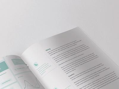 Aircall eBook | Closeup Inside Spread white paper marketing collateral jim chute