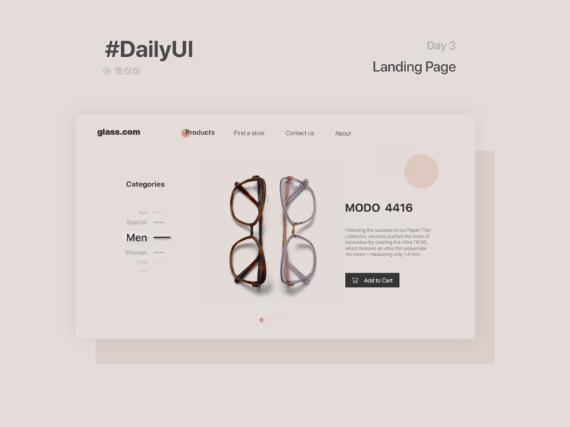 DailyUI Day3-Landing Page