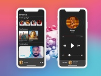 Daily UI Challenge - Day 9 : Music Player