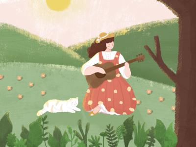 Voice of guitar