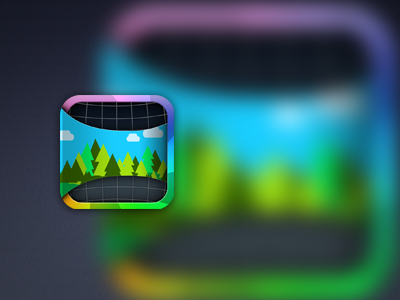 iOS app icon WIP ios app icon colorful colors picture photo