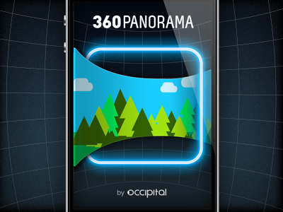 360 Panorama Splash Screen ios app splash logo iphone