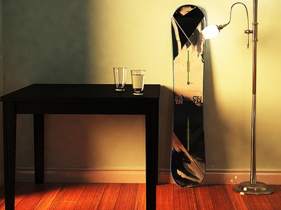quick living room render