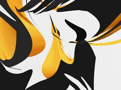 Dagger abstract digital illustration grafitti footfetish cheeseburger sharpshit