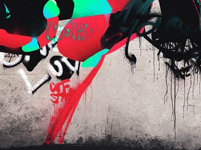 drips abstract streetart graffiti