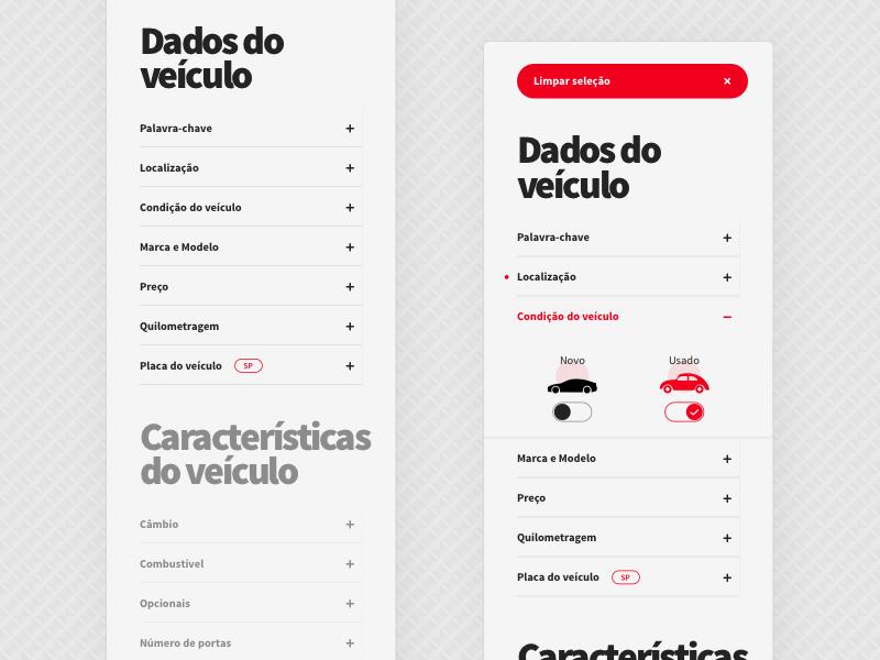 [Webmotors] Search concept webmotors web sketch concept redesign