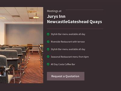 Hotel Meetings - Jurys Inn