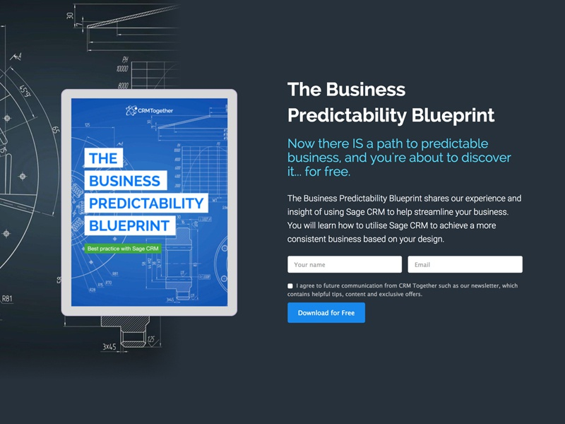 Business predictability blueprint
