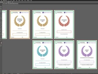 Community Award Certificates