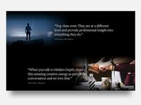 Testimonials - Hidden Depth