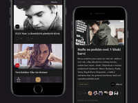 Stylisto — Media feed [iOS app]