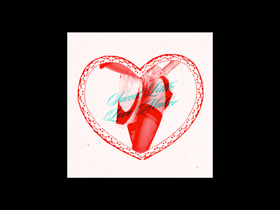 SWEET LITTLE LOVE MAKER valentines day poster poster design typography adobe illustrator design
