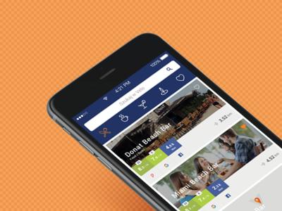 Place search, rates' comparison / App