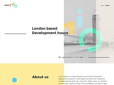 DigitalMio / UI  uk london development house development best ui designer torpedov swierkowski responsive web design ui user interface