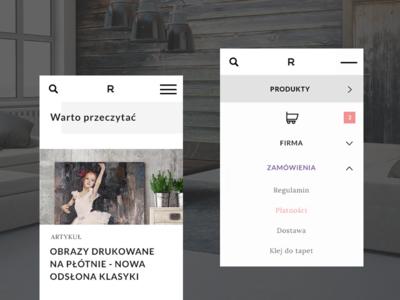 E-commerce redesign / part 2