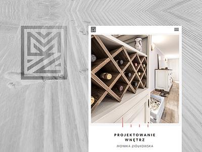 Mz Design online responsive full screen frontend web design design architecture