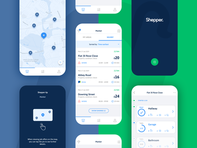 React Native app for remote assets management react native user interface minimal design app mobile interface ux ui