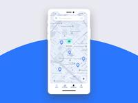 Parking Finder iOS App