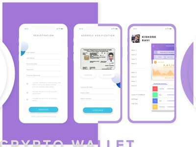 Crytpo Currency Wallet and Exchange Platform