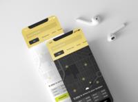 Taxi Booking Mobile App Concept