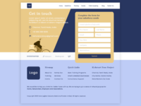 Contact us Website page design UI UX inspiration - 1