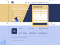 Contact us Website page design UI UX inspiration - 2