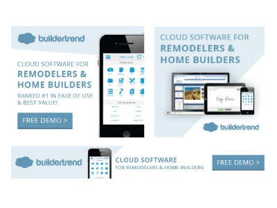 BuilderTREND Banner Ads banner advertisments