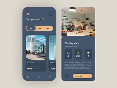 Apartment Finder app memoji minimal mobile ui mobile app design apartment design design figma