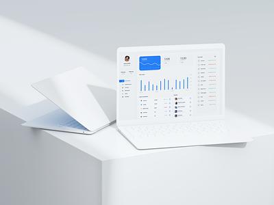 Stocks app dashboard stock finance ux design minimal dashboard ui composition mockup photoshop figma