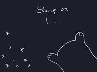 Sleep on my little dog 2