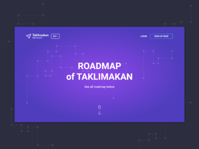"""Roadmap"" first view"