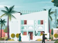 Bahraini-styled House (facade)
