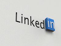 Linkedin 3D Logo - V2
