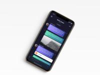 Message Design iOS app
