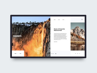 Travel Guide Web Concept