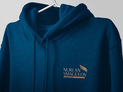 Nurlan Smagulov Foundation design logo branding graphic design