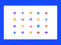 轻质感icons