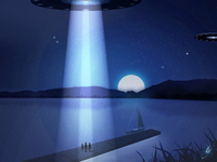 Aliens at the Yacht Club