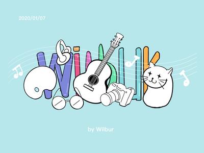 My Hobbies illustration