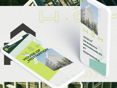 H.O.M - Social Campaign ux ui design digital design