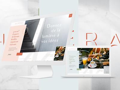 Hemera - Website website digital ux ui design design