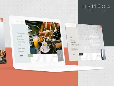 Hemera - Website digital website ux ui design design